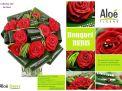 bouquet fleurs rubis aloé fleurs forbach