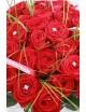 Bouquet Grandes roses & brillant