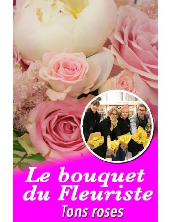 Le bouquet du fleuriste coloré