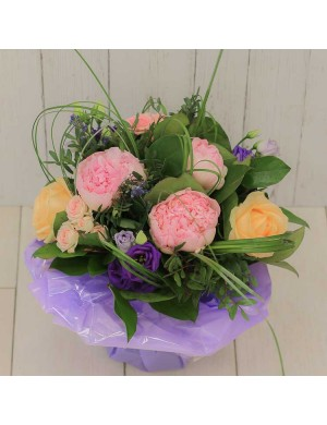 "Bouquet rond ""Maman Calin"""