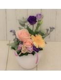 Composition florale PM 'Maman Calin'