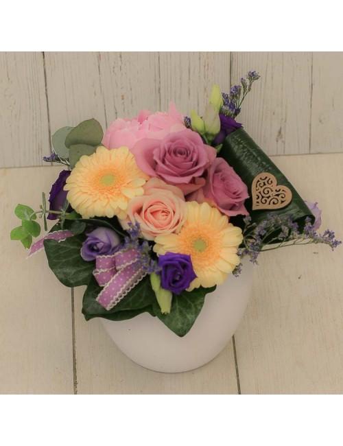 Composition florale GM 'Bonne fête Maman'