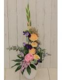 Composition florale Hauteur 'Maman Calin'