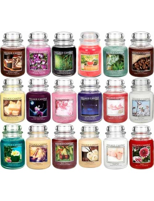 Jarre moyenne Yankee Candle - Cerise griotte -