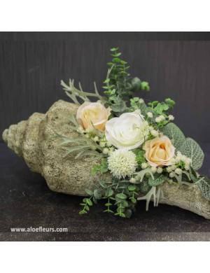 Composition funéraire, tombe et columbarium